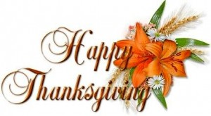 Thanksgiving Holiday – College closed