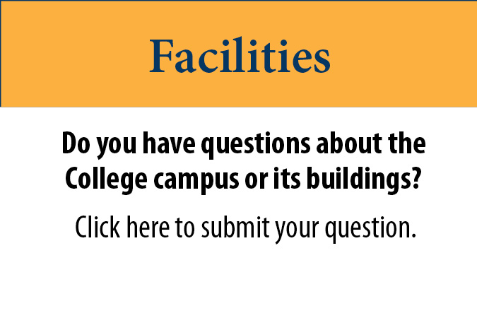 For questions about facilities contact Tim Nicholson