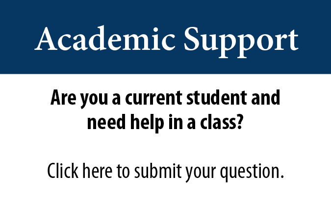 Academic Support for Tri-County Community College Students