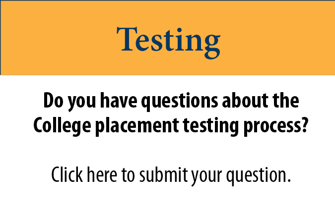 Questions about Testing at Tri-County Community College