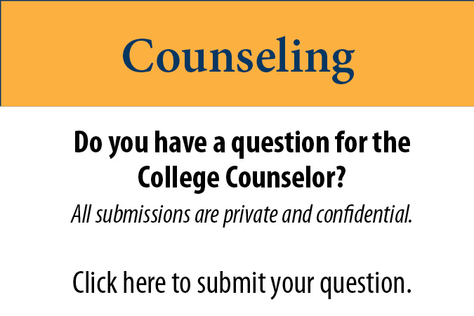 Counseling Questions for Tri-County Community College Students