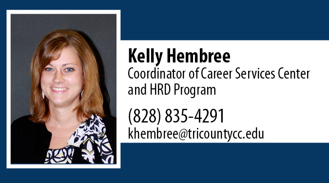 Contact Kelly Hembree with Career Center Questions