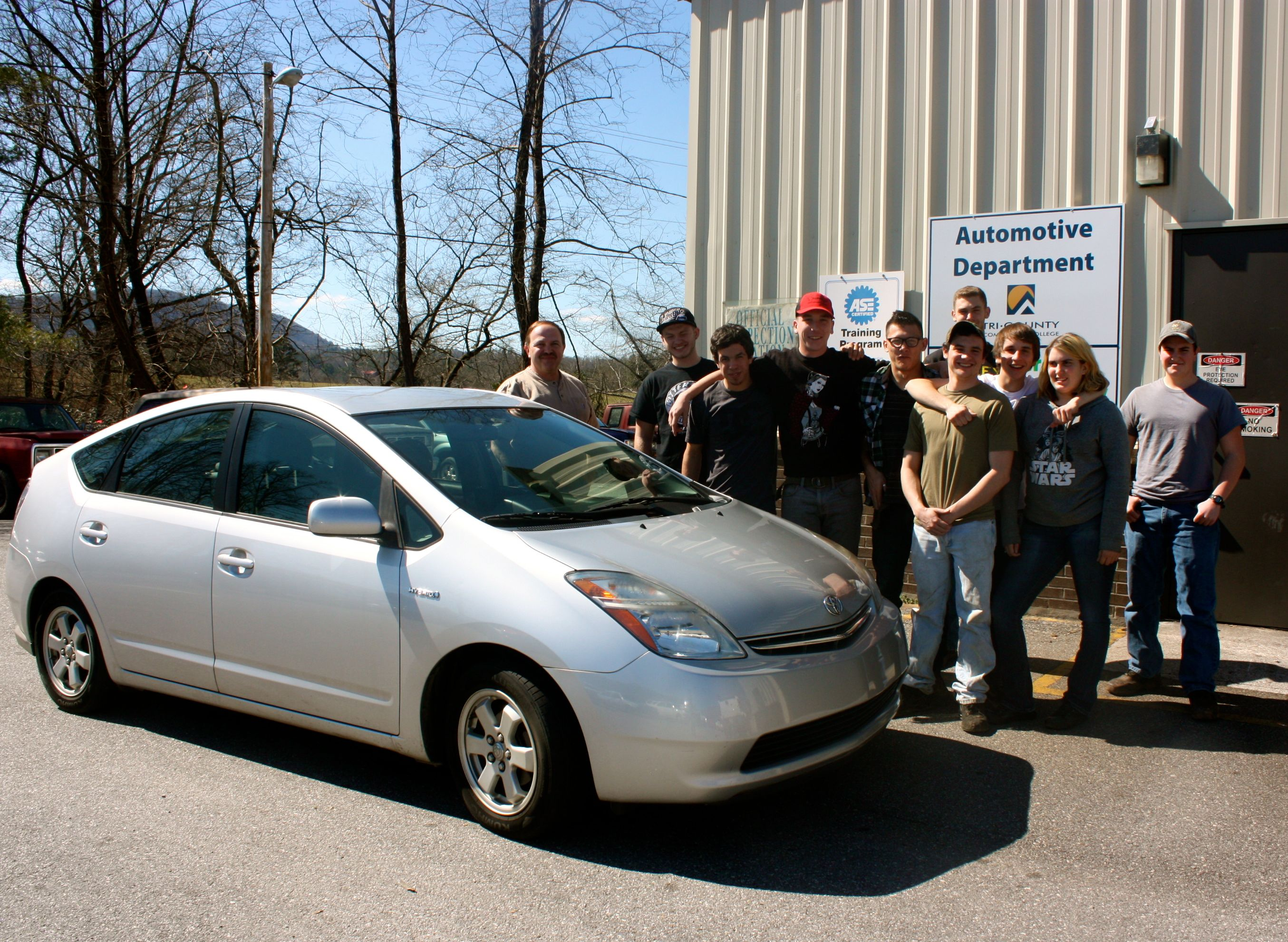 TCCC Receives Prius Donation