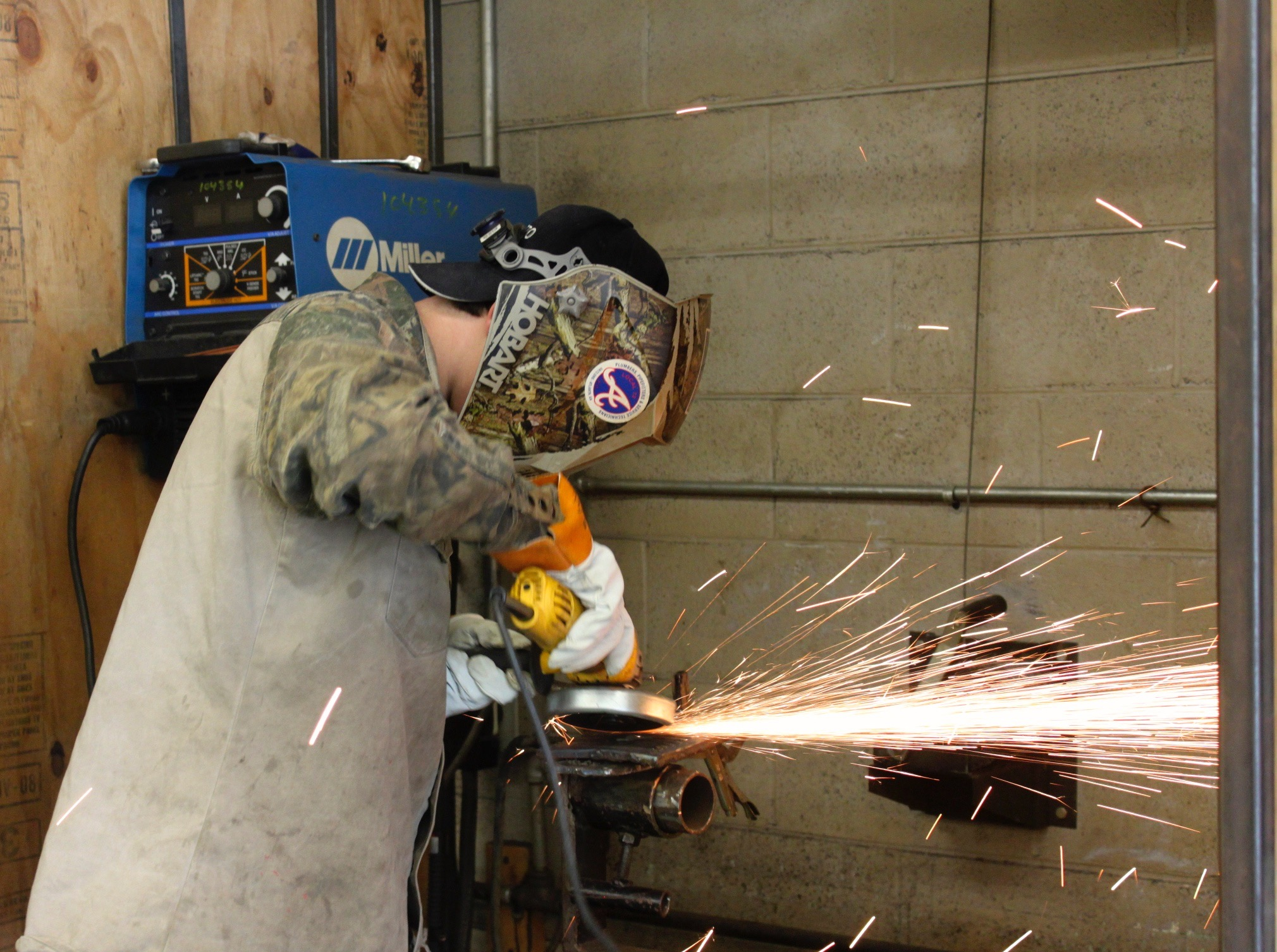 Welding at TCCC