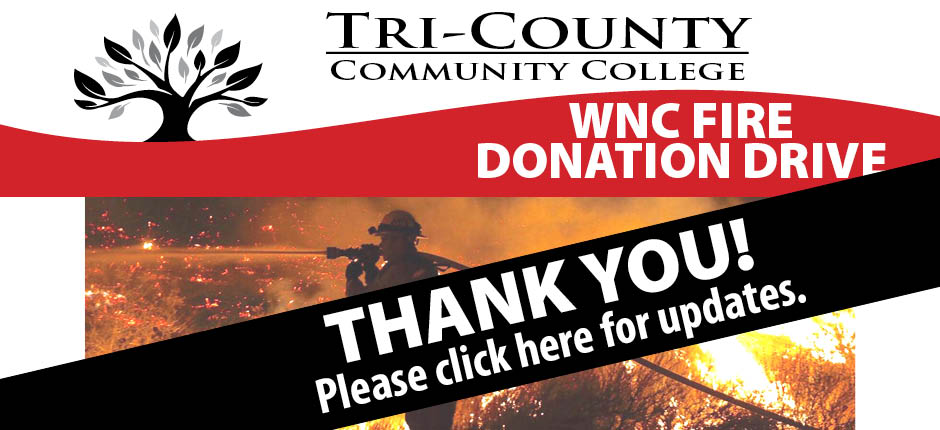 WNC Fire Thank you Campaign