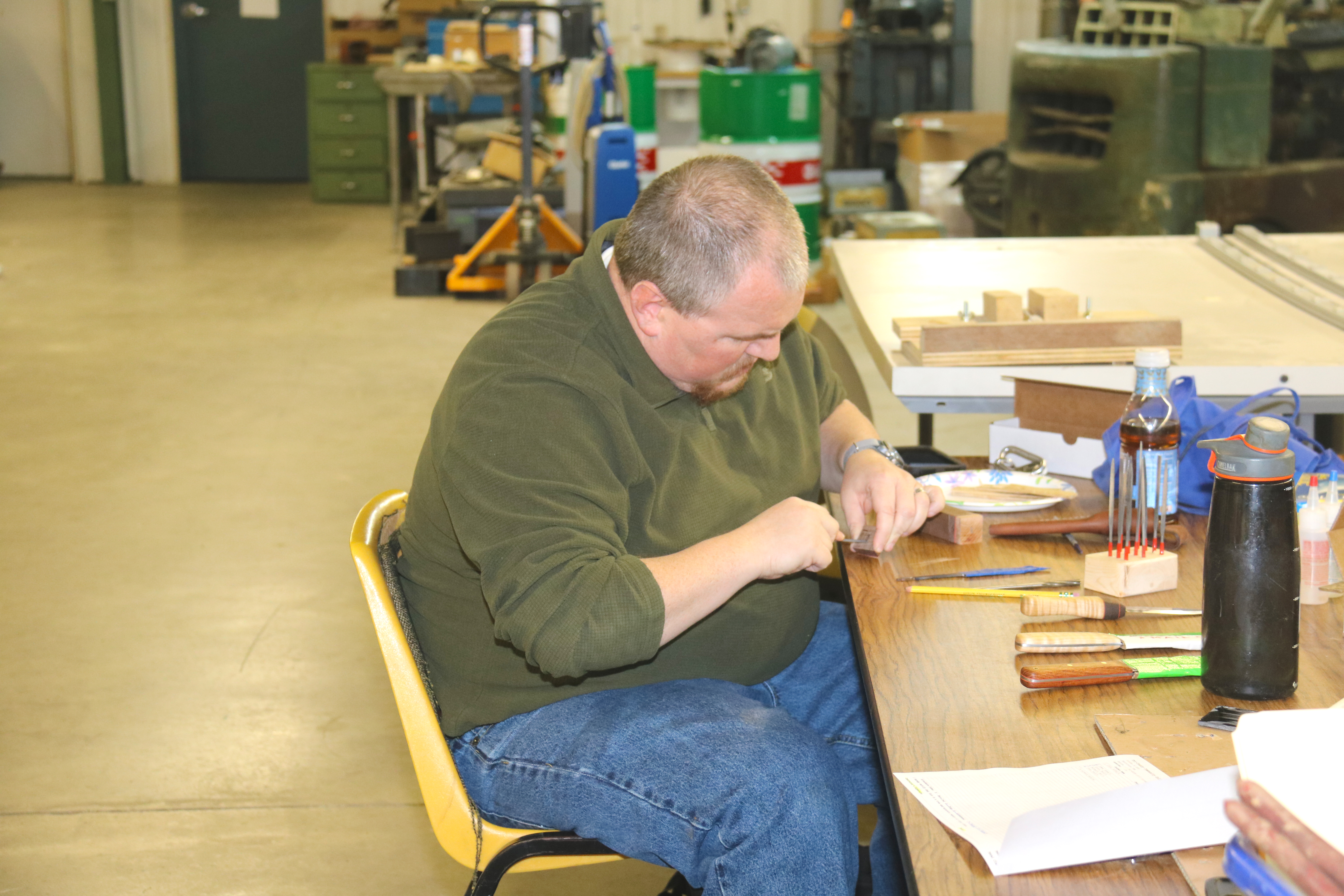 Knife Making at TCCC