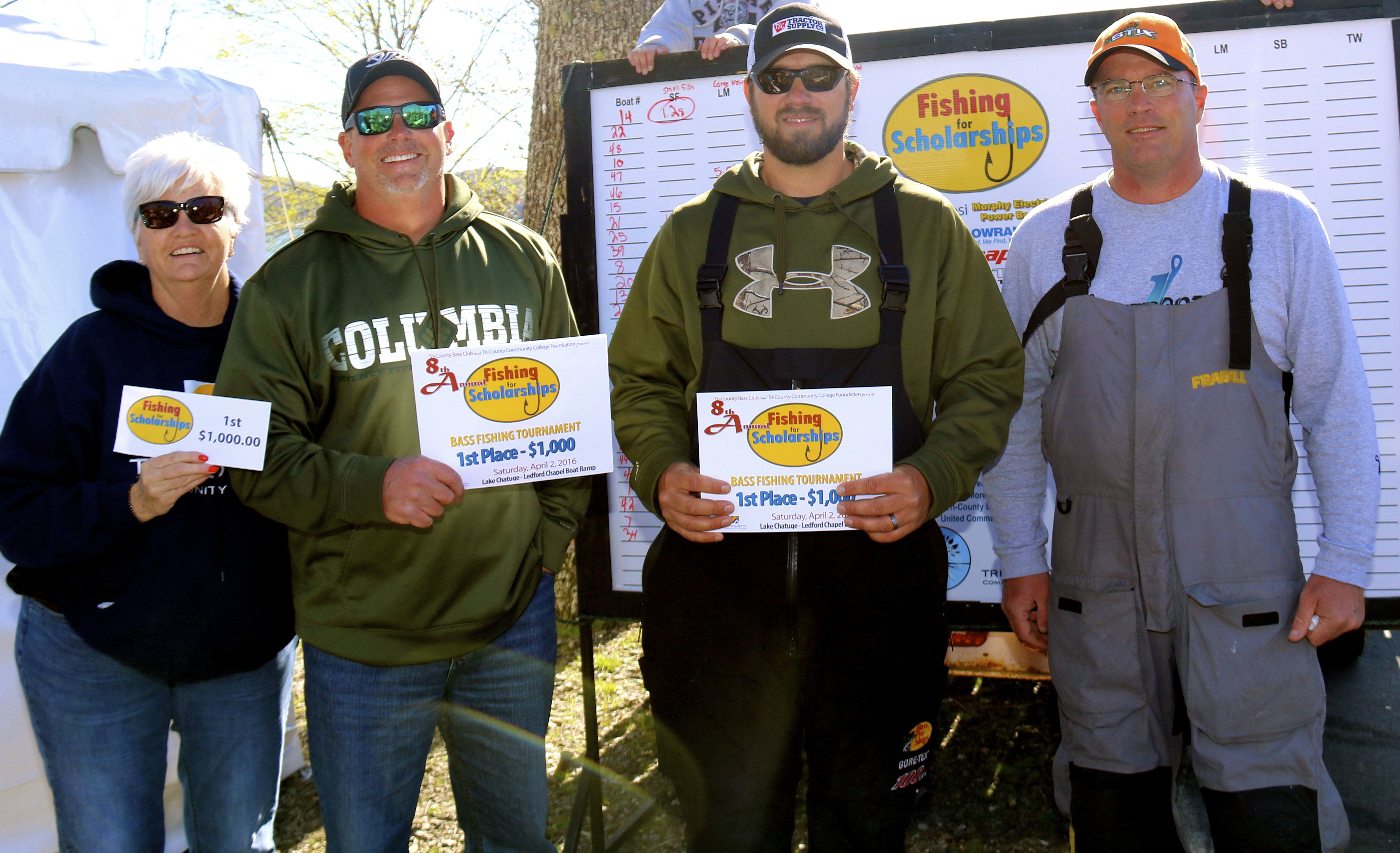 9th Annual Fishing for Scholarships Bass Tournament