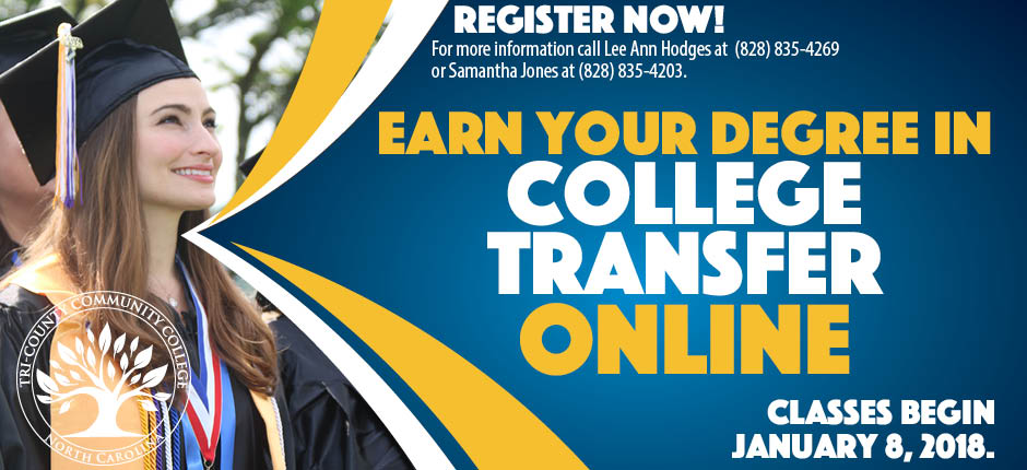 COLLEGE TRANSFER ONLINE