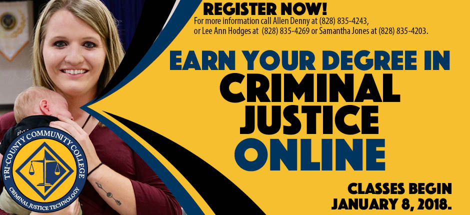 CRIMINAL JUSTICE ONLINE at TCCC