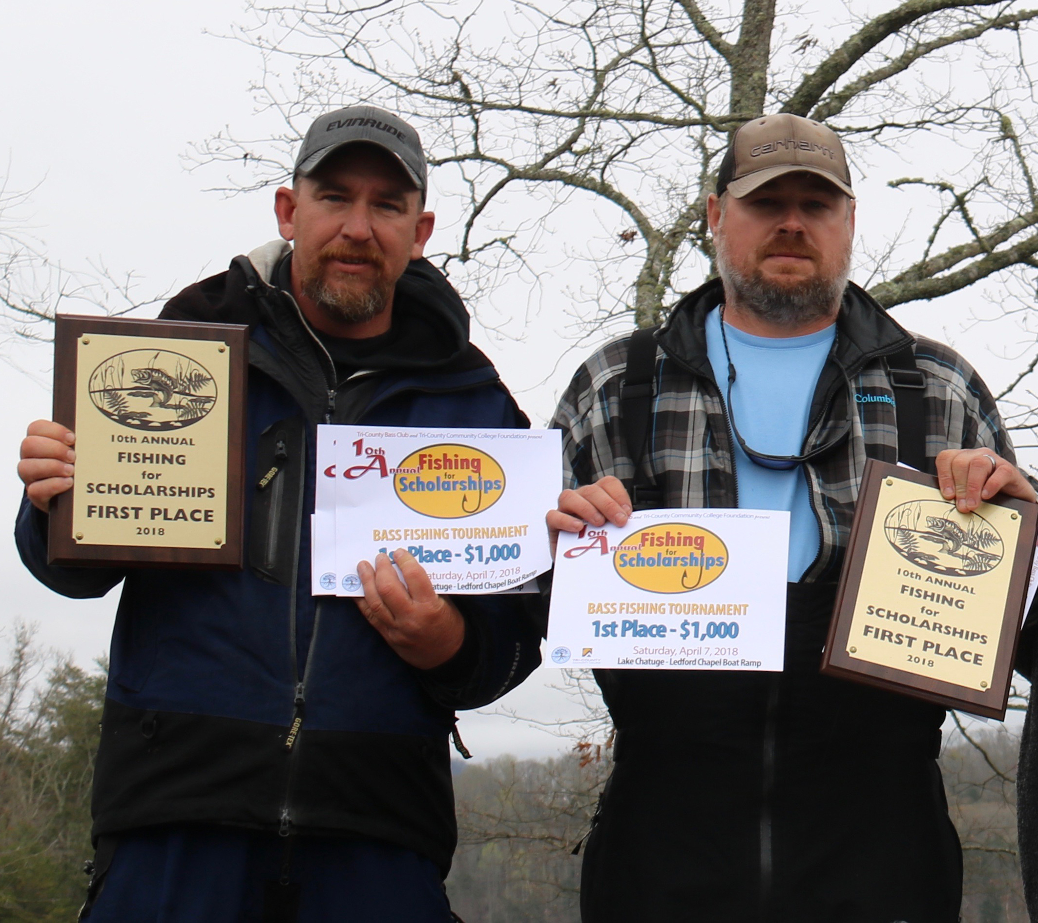 1st place fishing winners