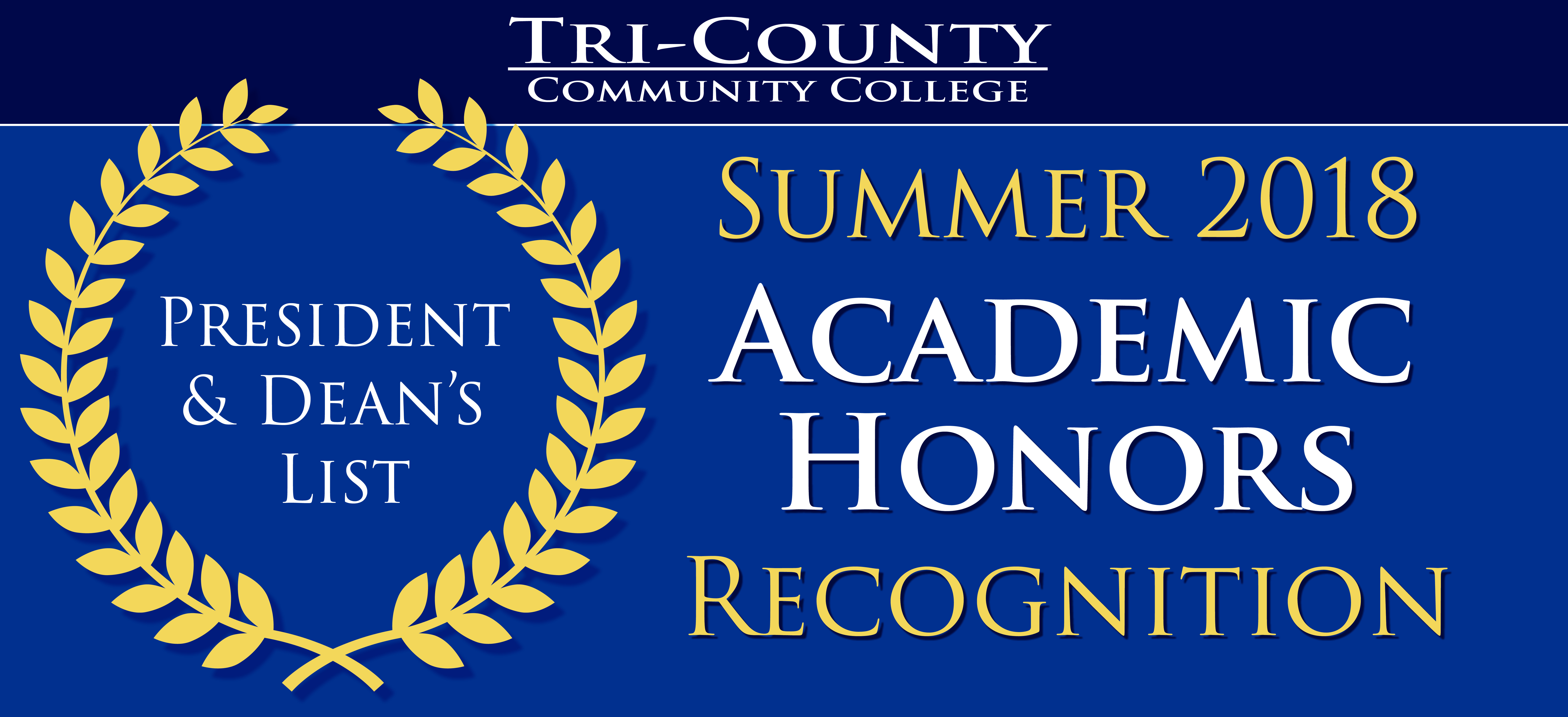 Summer Academic Honors