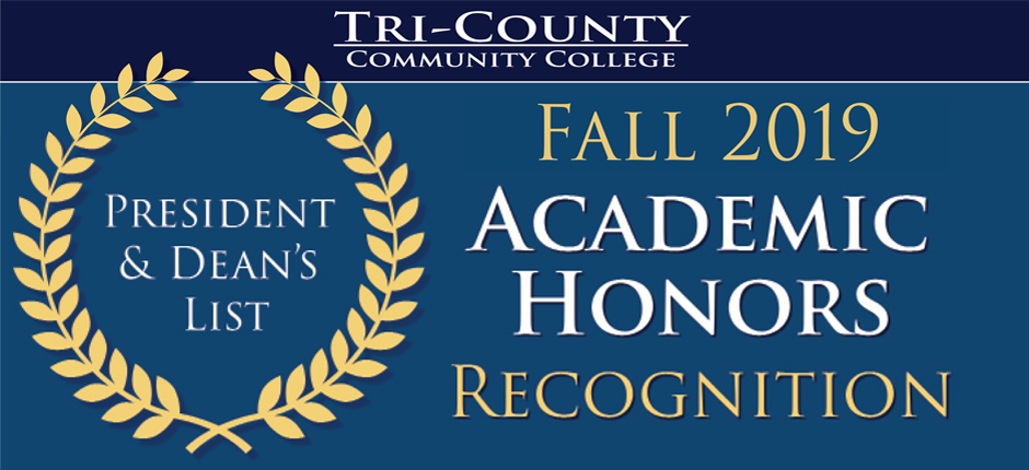 Fall 2019 Academic Honors